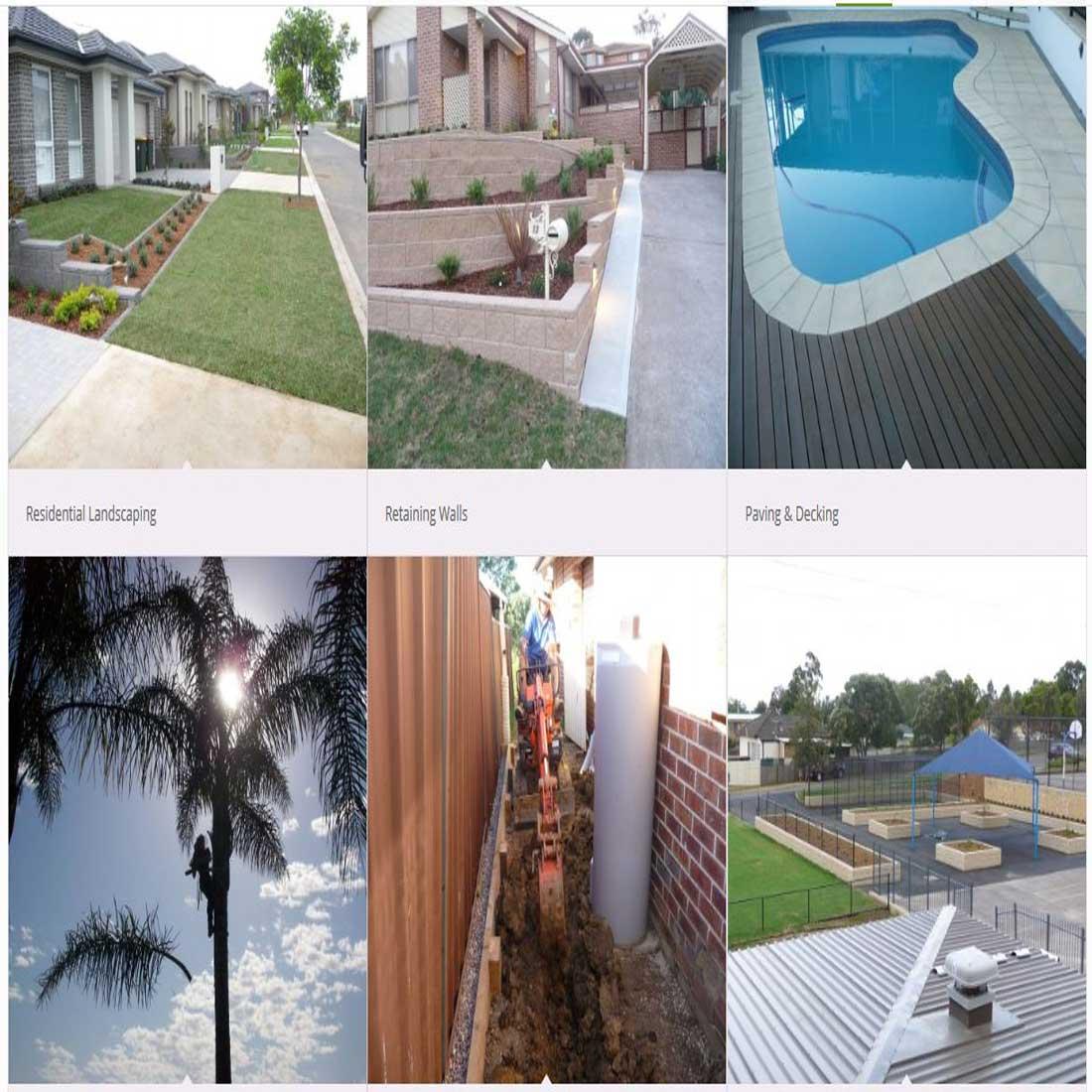 Great Yard Landscaping Website Design Sydney